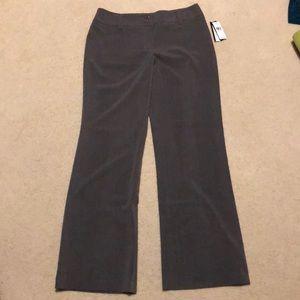🌻Price Drop NWT size 6 gray dress pants. Wide leg
